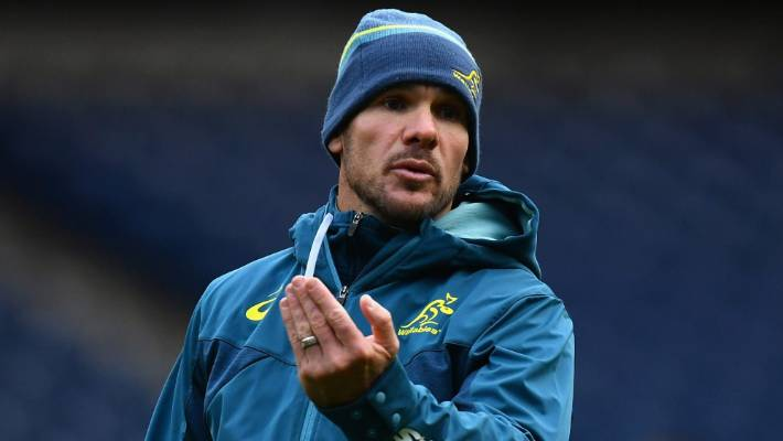 Wallabies's defense coach, Nathan Gray says he was very happy & for Ireland after they have been hitting All Blacks.