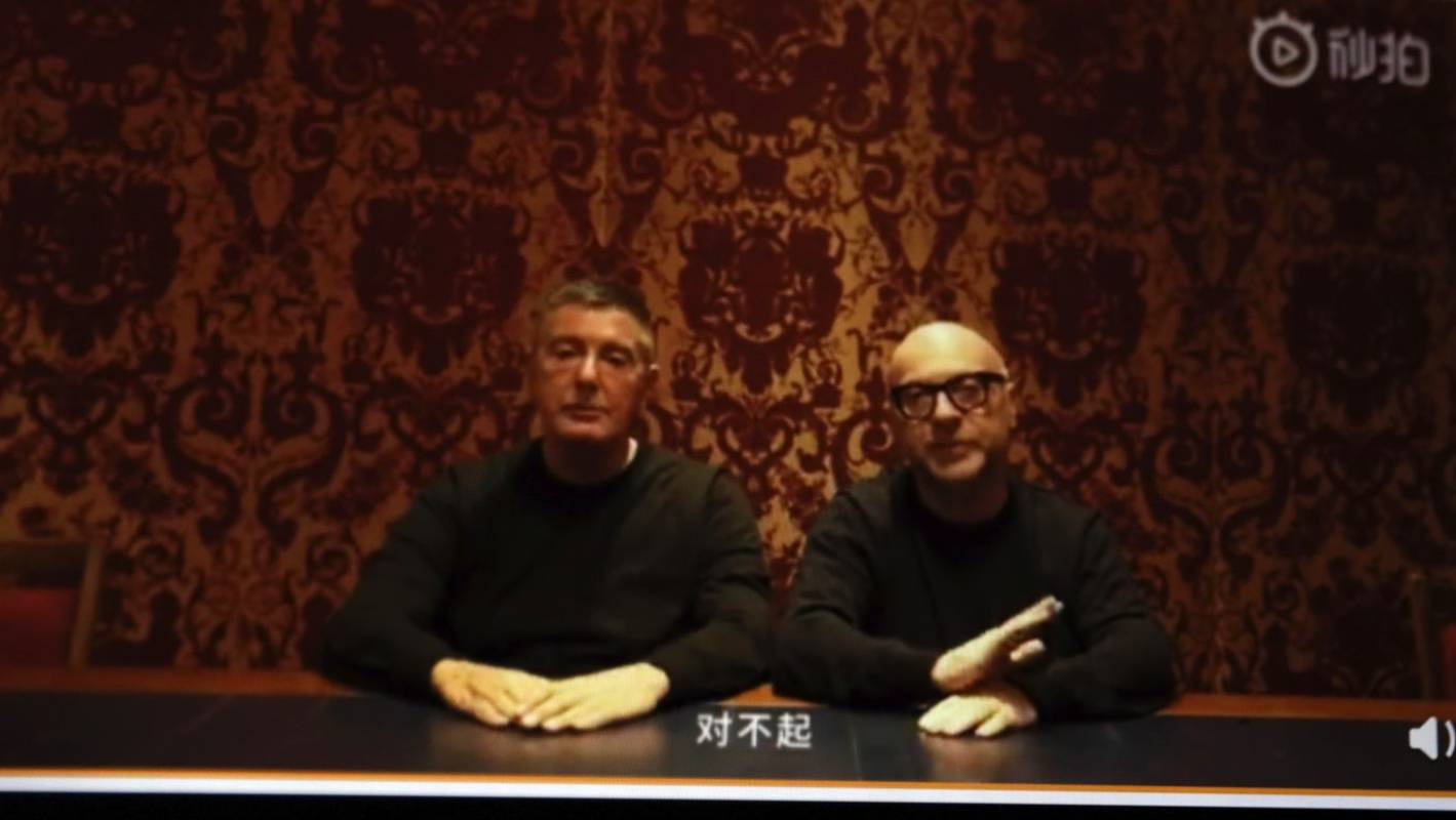 Calamity for Dolce   Gabbana as Chinese boycott snowballs after insults    Stuff.co.nz 62a549a18ff6
