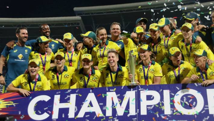 England outplayed by Australia in Women's T20 World Cup final