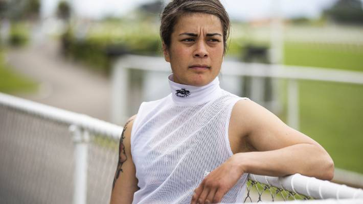 Jockey Zinjete Moki says she takes it personally when animal advocates say the racing industry doesn't care for its horses.