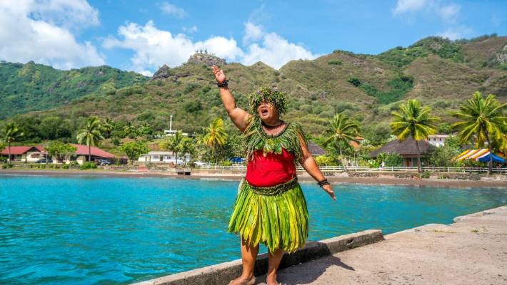 The Polynesians who live in the Marquesas Islands, and the rest of French Polynesia, are closely related to Maori.