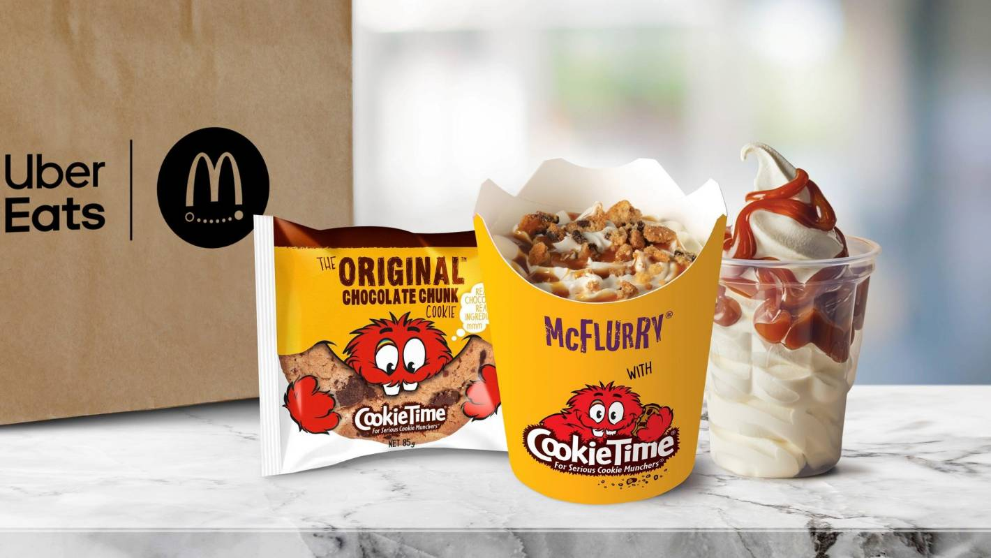 McDonald's Cookie Time McFlurry launches exclusively on Uber Eats