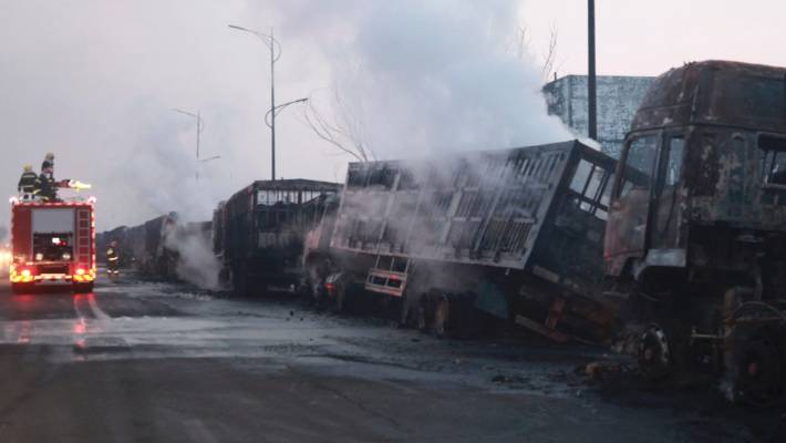 China: at Least 22 Dead in Explosion in chemical factory