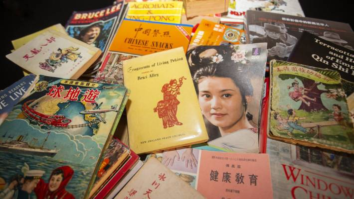 Lee says lots of resettled Chinese families have become unofficial keepers of cultural treasures, hoarding ephemera that has often been destroyed by invaders.