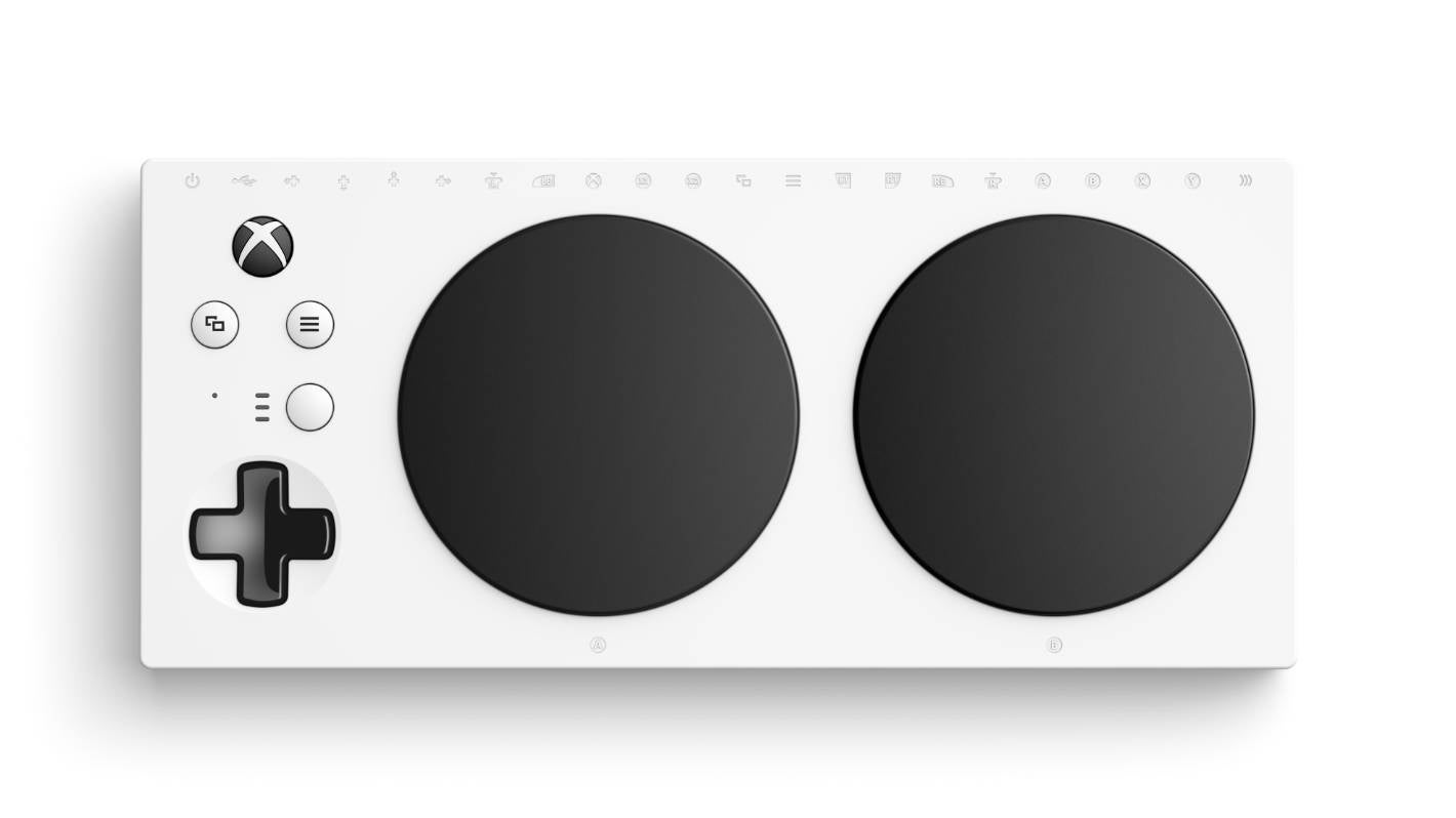 "The Xbox ""adaptive"" controller."
