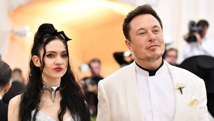 No longer the bullied schoolboy in South Africa, Elon Musk is seriously cool. Claire Boucher, left, and Elon Musk attend the benefit gala of the Metropolitan Museum of Art & # 39; s Costume Institute in May.