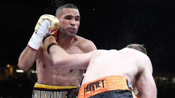 Jeff Horn ends Anthony Mundine's career with brutal knockout