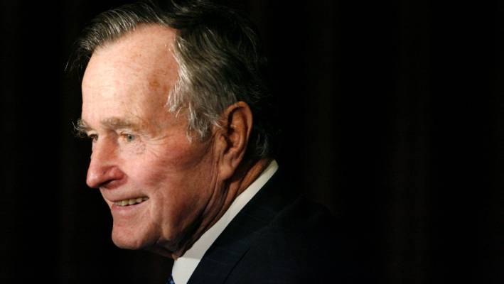 Former US president George H W Bush had been suffering from a form of Parkinson's before his death