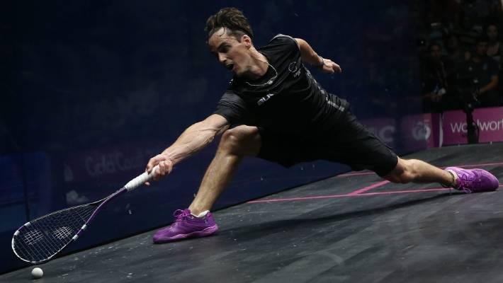 Paul Coll went down in the semifinals of the PSA tournament in Egypt. (FILE PIC)