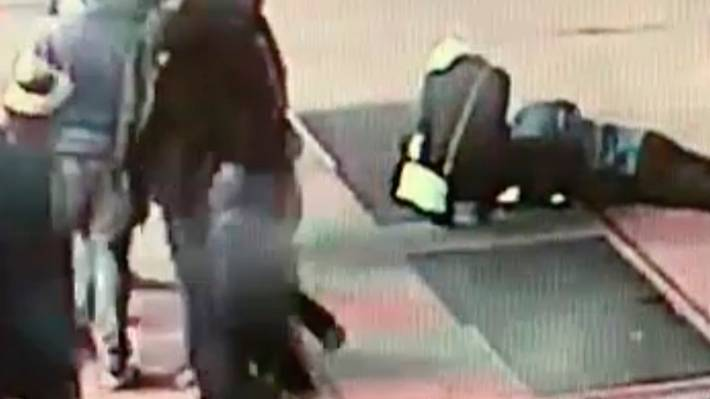 Couple who dropped engagement ring in Times Square utility grate located