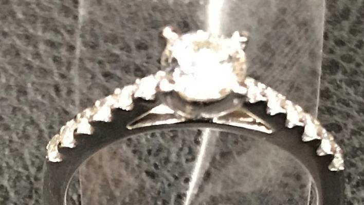 Police looking for couple after engagement ring recovered from utility grate