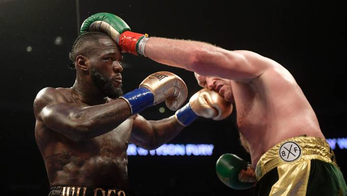 Wilder vows to knock out Fury at heavyweight title weigh