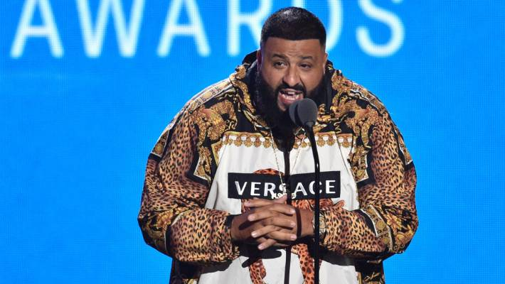 DJ Khaled was playing with his own