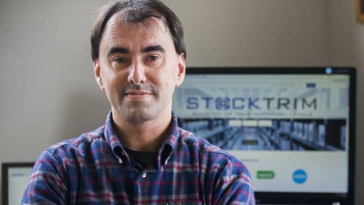 StockTrim founder Paul Simpson says it's a hard but satisfying grind taking his stockroom management software to hundreds of clients across the world.
