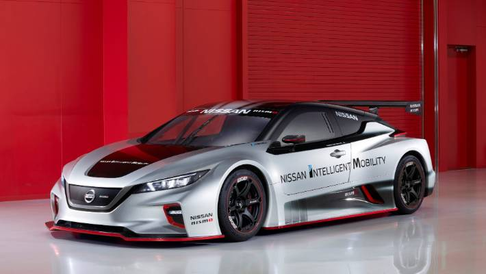 Nissan's Leaf Nismo RC racer doubles the power of its predecessor