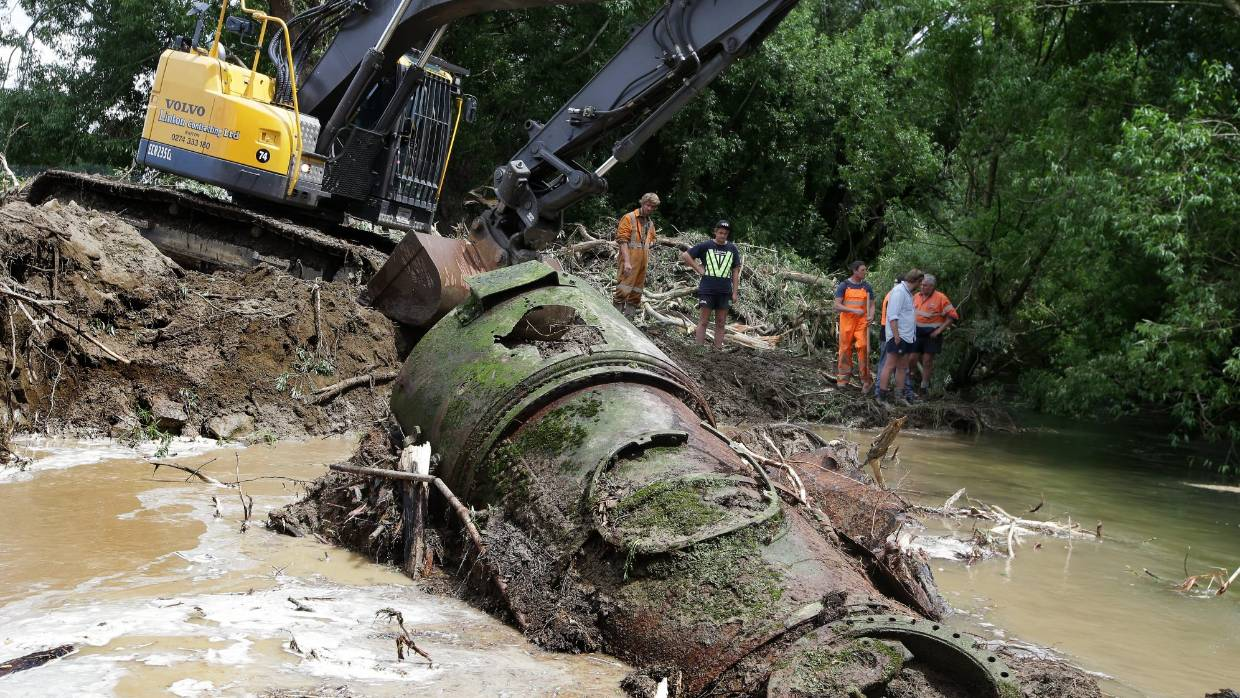 Locomotives unearthed in Southland for the first time in nine