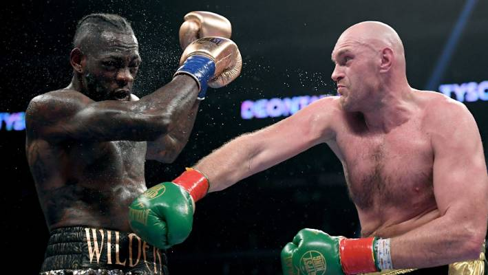 Fight statistics show Tyson Fury outboxed Deontay Wilder in