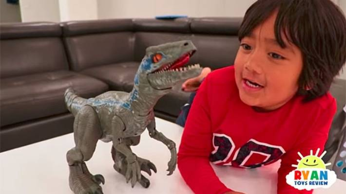 Boy wonder: Seven-year-old earns £17m reviewing toys on YouTube