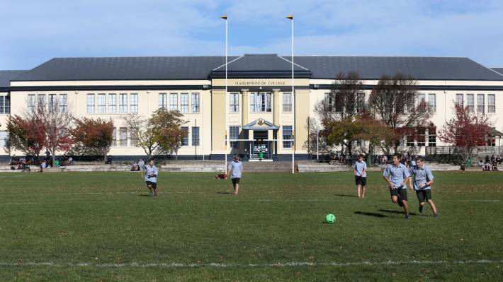 A decision on possible demolition work at Marlborough Boys' College has yet to be made.