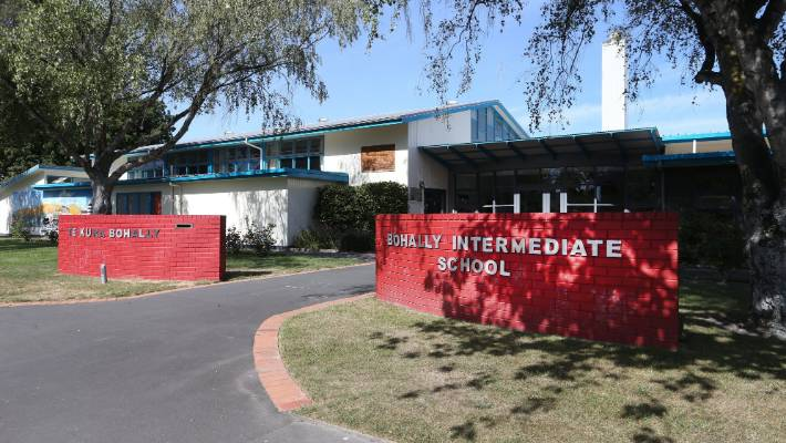 Bohally Intermediate School will move across town to the current Marlborough Boys' College site.