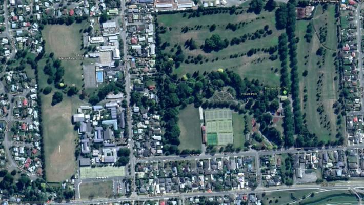 The Marlborough Girls' College and Bohally Intermediate School sites, left, on McLauchlan St in Blenheim.