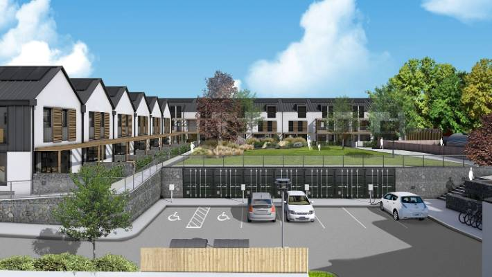 There are only a handful of co-housing examples in New Zealand, including High Street which is underway in Dunedin.