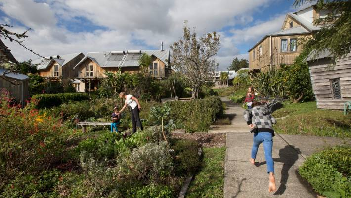 The Earthsong eco-village at Ranui, west Auckland, is regarded the country's oldest urban housing community.