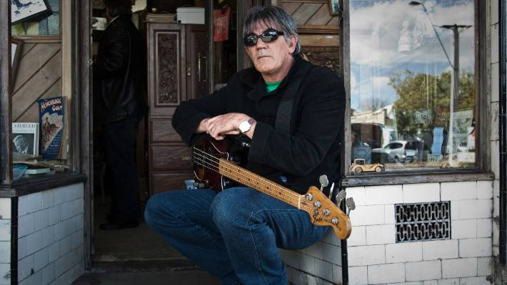 Bass player Paul Woolright is hoping to get the old band back together ...