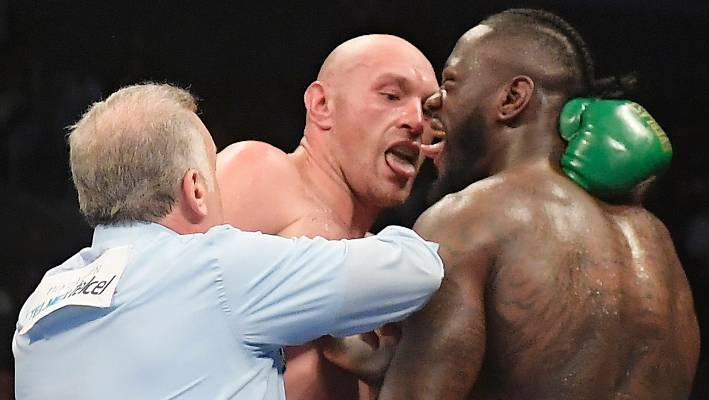 WBC confirms Wilder will not be Fury's next opponent