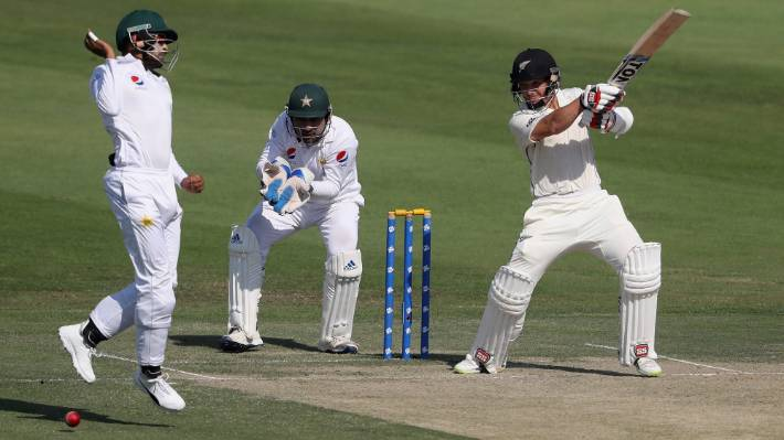 Black Caps v Pakistan, third test, day four