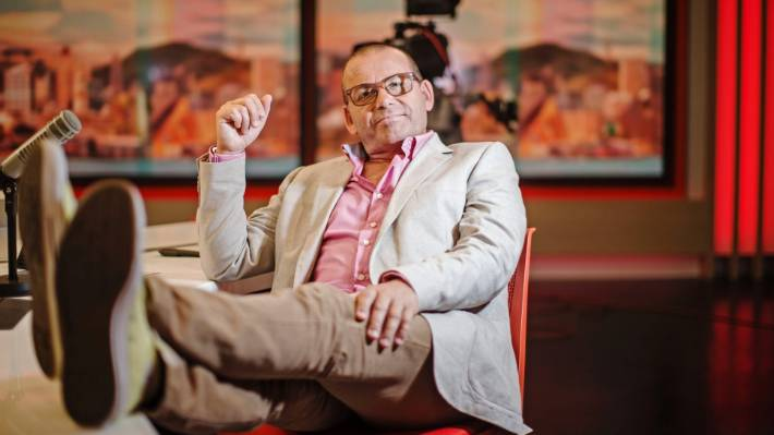 Paul Henry had a history of making controversial comments, but it pales in comparison to Alan Jones. — Photograph: Lawrence Smith.