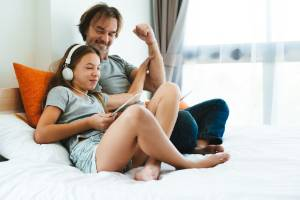 A stepdad needs to keep his stepdaughter safe and trusting.