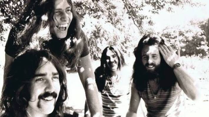 The Christchurch band Ticket. From left, Eddie Hansen, Ricky Ball, Paul Woolwright, Trevor Tombleson, in a 1970s publicity shot.