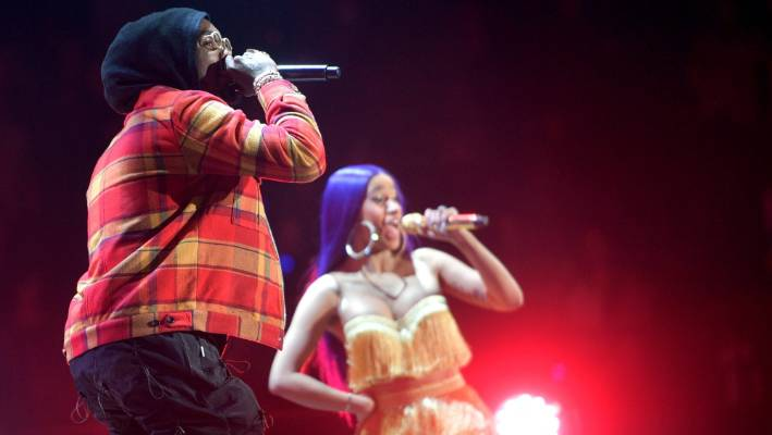 Cardi B announces split from husband, Offset