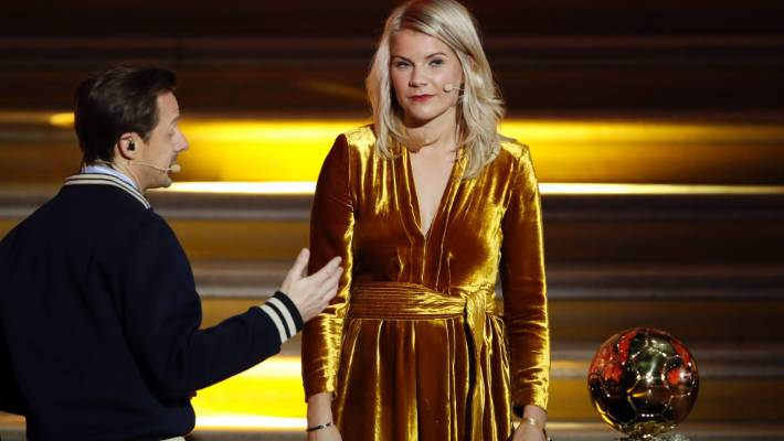 Ada Hegerberg was asked to twerk by French DJ Martin Solveig after becoming the first woman to win the Ballon d'Or.