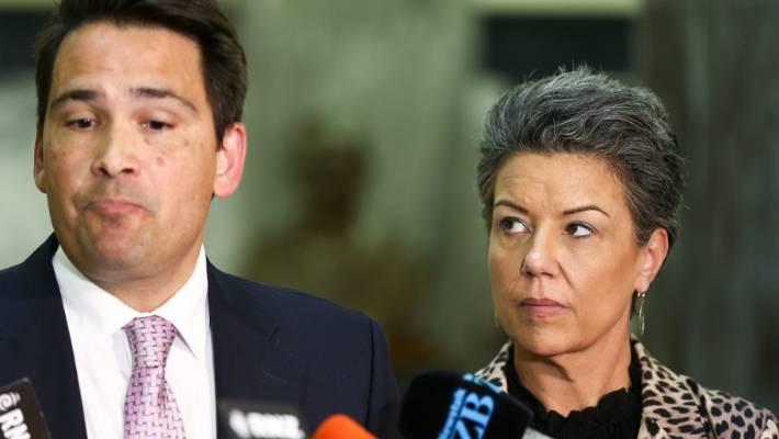 Bridges and deputy Paula Bennett - is Bennett a contender to replace him?