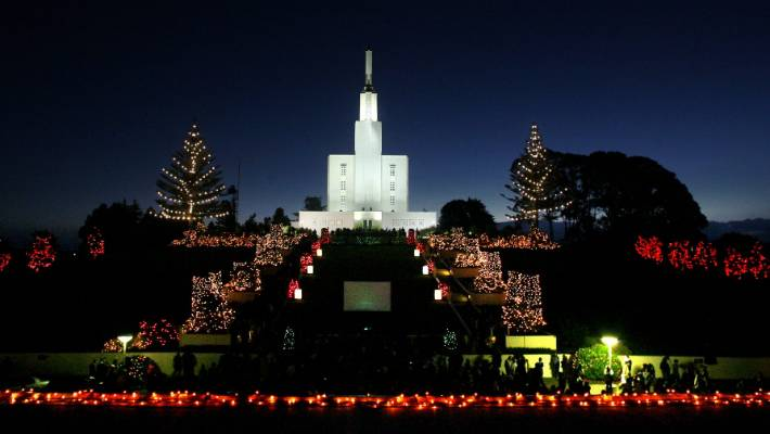 Temple View Christmas Light Tradition On Hold During