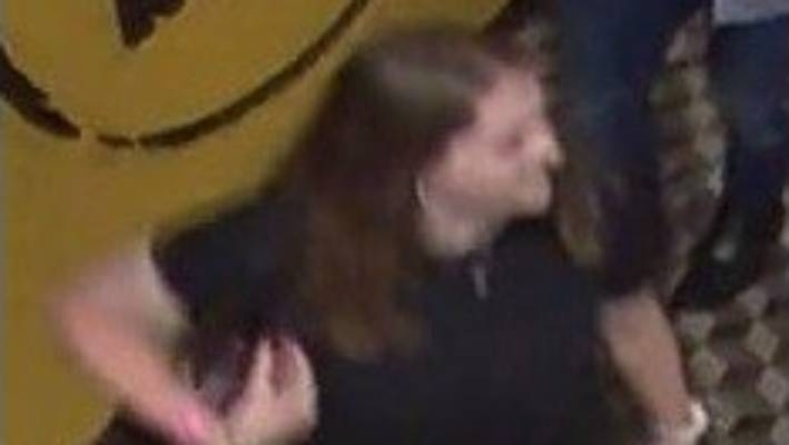 Grace Millane was captured on CCTV at Sky City in Auckland on December 1 wearing a black dress and white shoes.