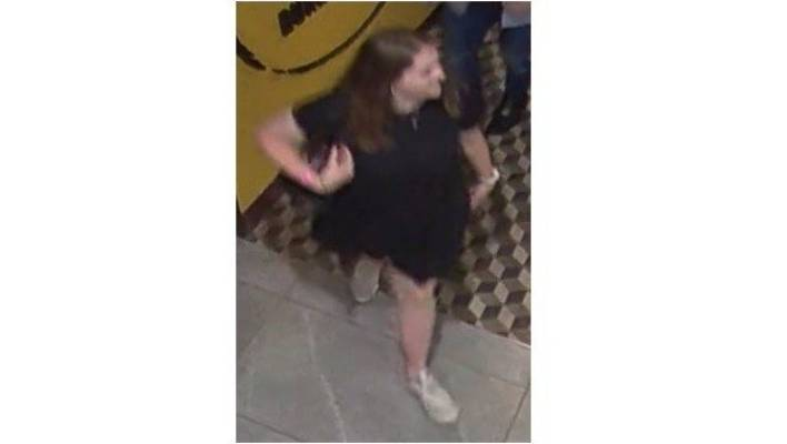 Grace Millane was captured on CCTV footage at Sky City on December 1