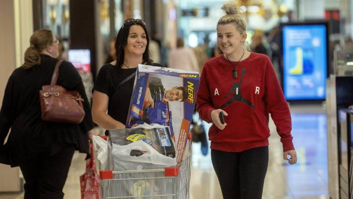 Bex Chadfield-James,left, and her daughter Kayla Chadfield know from experience picking thoughtful Christmas gifts for everyone in a big family can be a minefield.