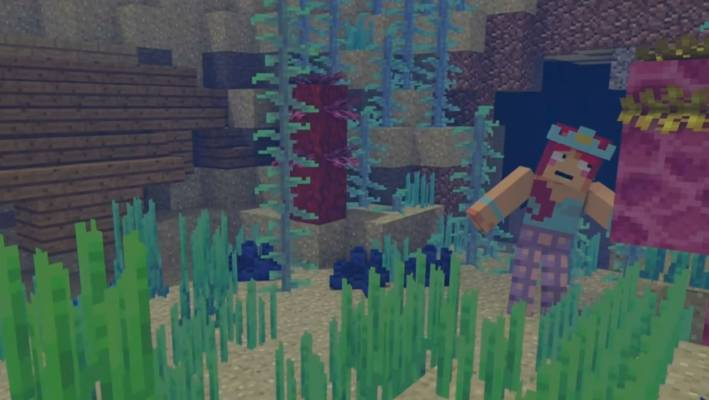 Some can express themselves through Minecraft much better than anything else.