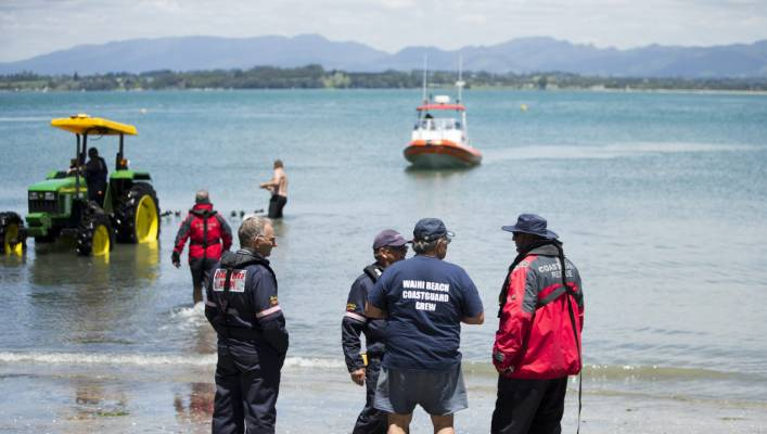 Jason Lines, an associate of the men, drowned on November 20, 2017, after his dingy capsized near Waihi Beach (FILE)