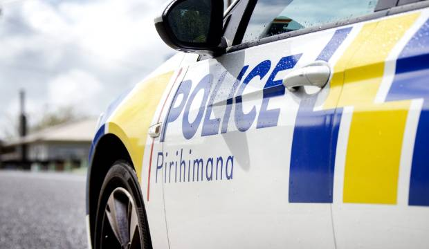 Woman fleeing police injured after crashing into power pole in south Auckland
