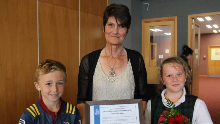 Southland police and people honoured for service and bravery