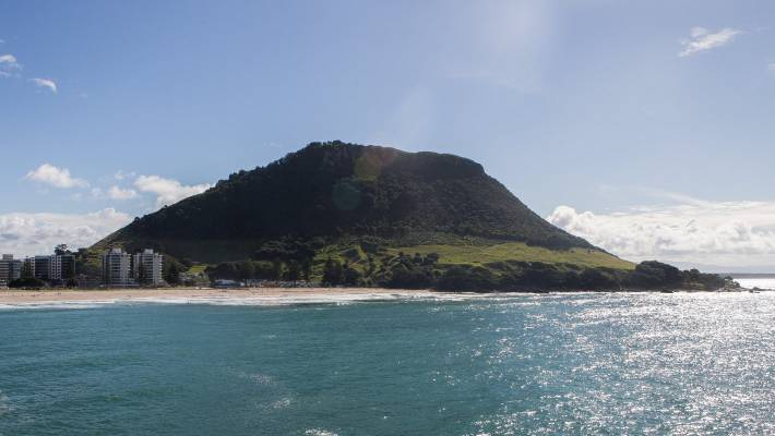 A paraglider has crashed onto Mt Maunganui (file photo).