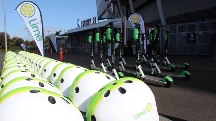 Lime's first e-scooter summit took place on Saturday at Auckland's Eden Park.
