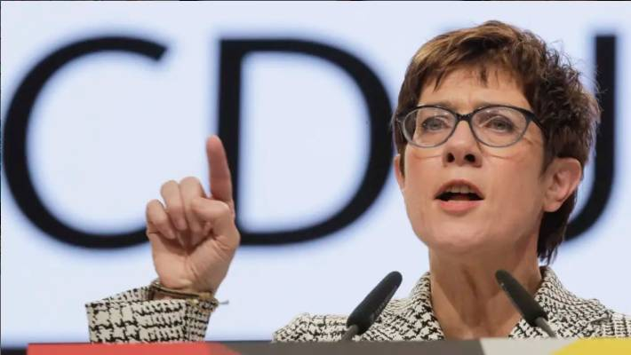 Annegret Kramp-Karrenbauer has been dubbed the mini-Merkel.