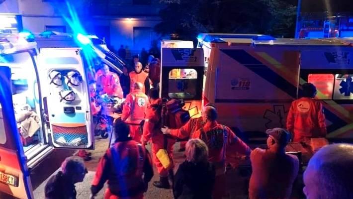 Italy nightclub stampede leaves six dead near Ancona