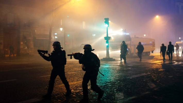 After two weekends of violence made authorities look powerless, police went into overdrive to keep a lid on unrest.