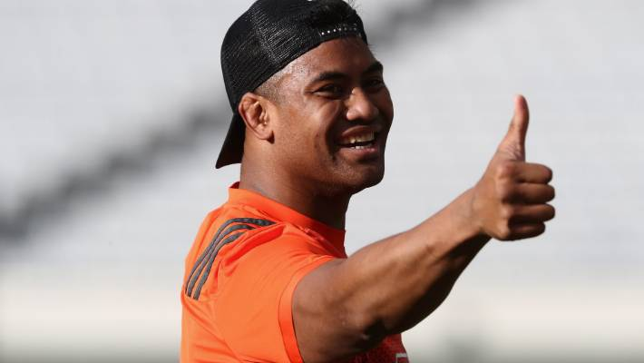 Julian Savea played in midfield for Toulon's big European Champions Cup win over a French rival (file photo).